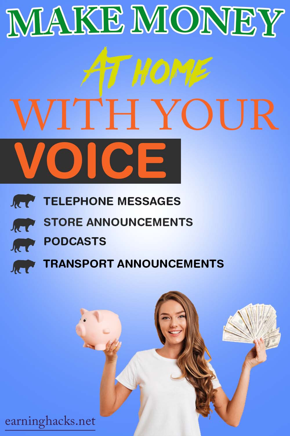 Make Money At Home With Your Voice