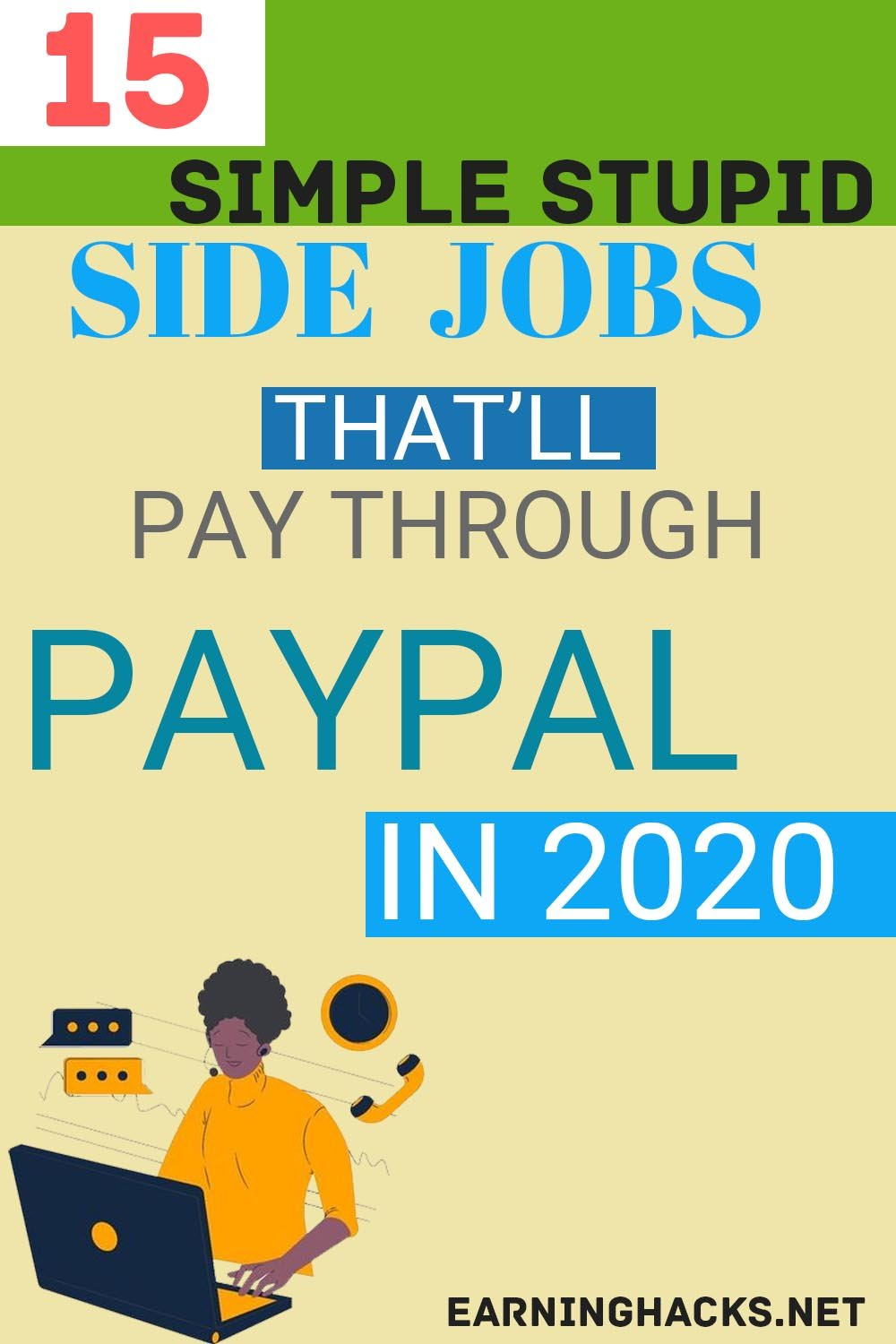 15 Side Jobs That'll Pay Through Paypal