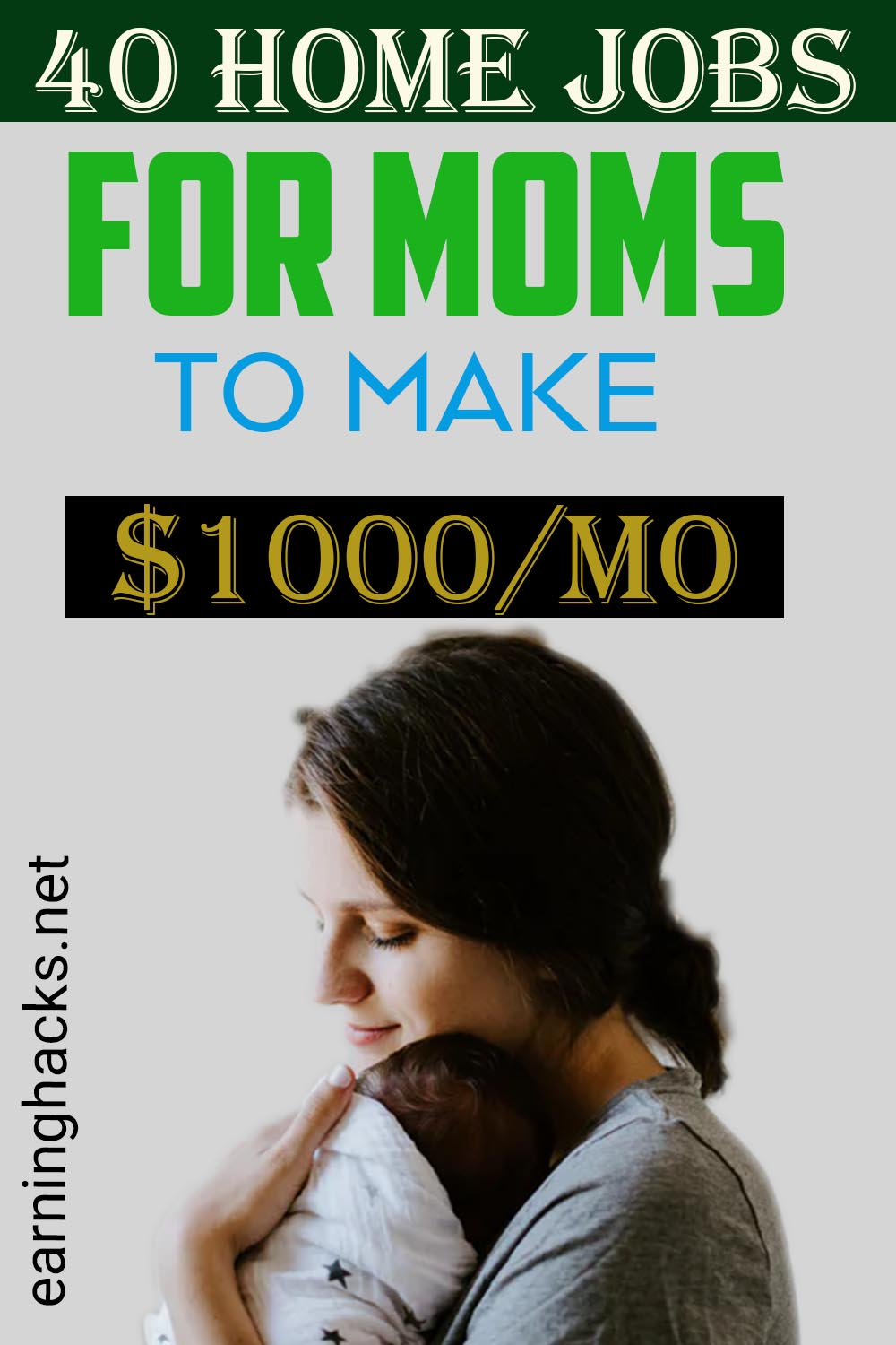 40 Home Jobs For Moms To Make $1000/MO