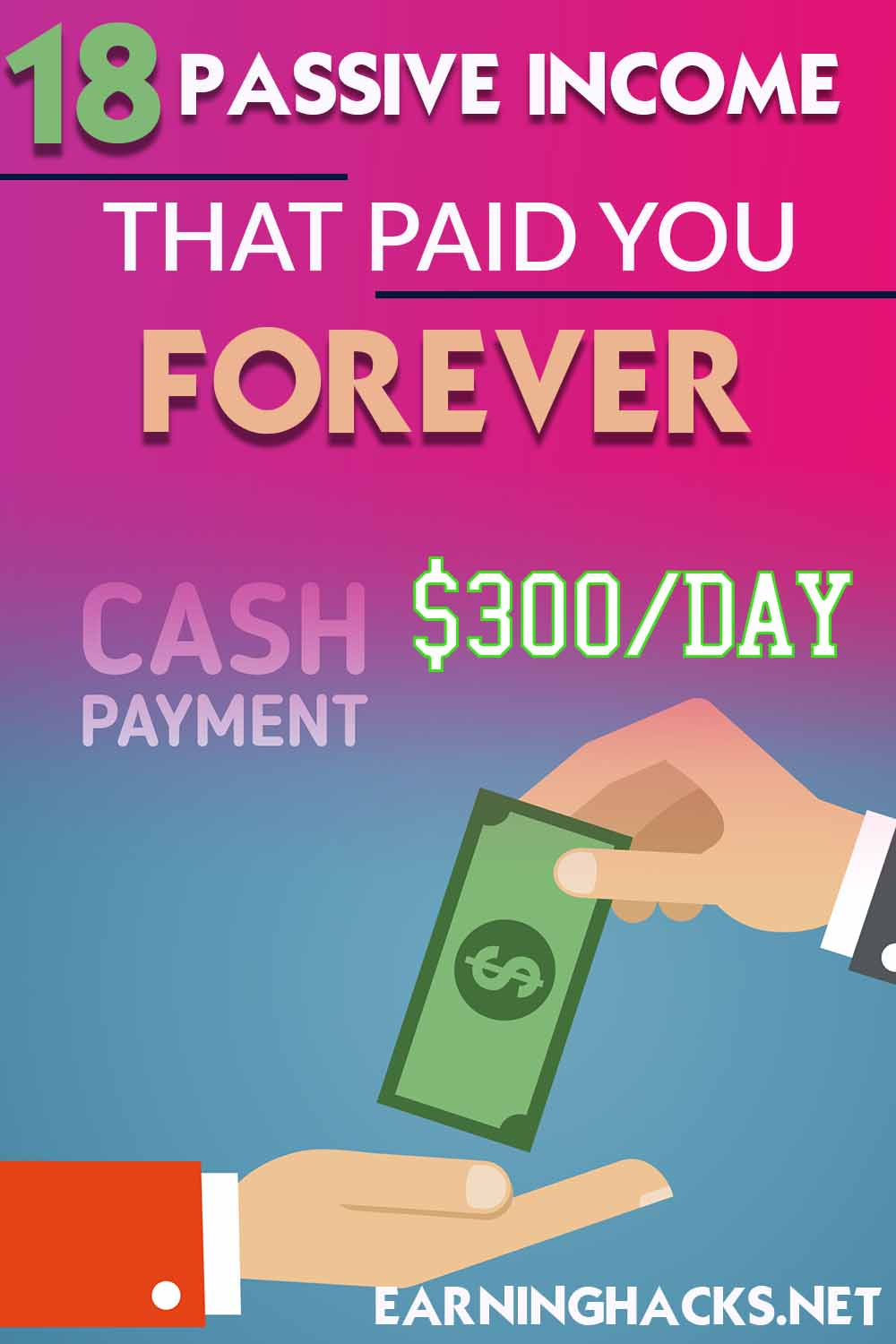 18 passive income that paid you forever $300 day