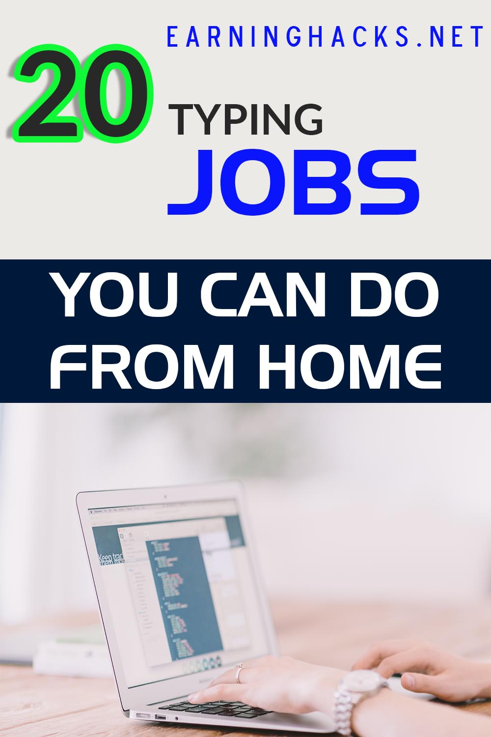 20 Typing Jobs You Can Do From Home