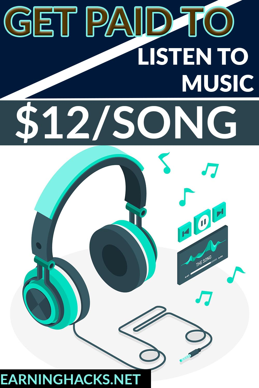 Get Paid to listen to music $12/song.