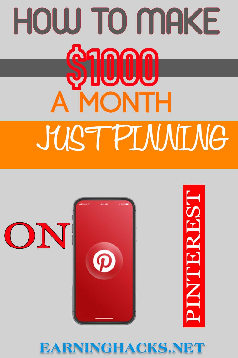 How To Make $1000 A Month Just Pinning