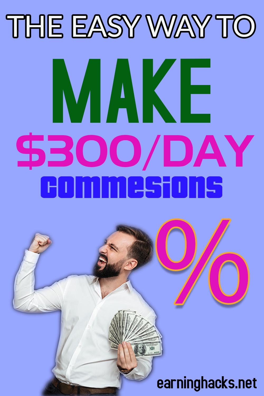 The Easy Way To Make $300 / day Commissions