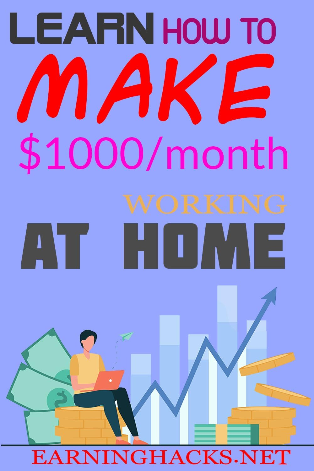 Learn How To Make $1000/month Working At Home