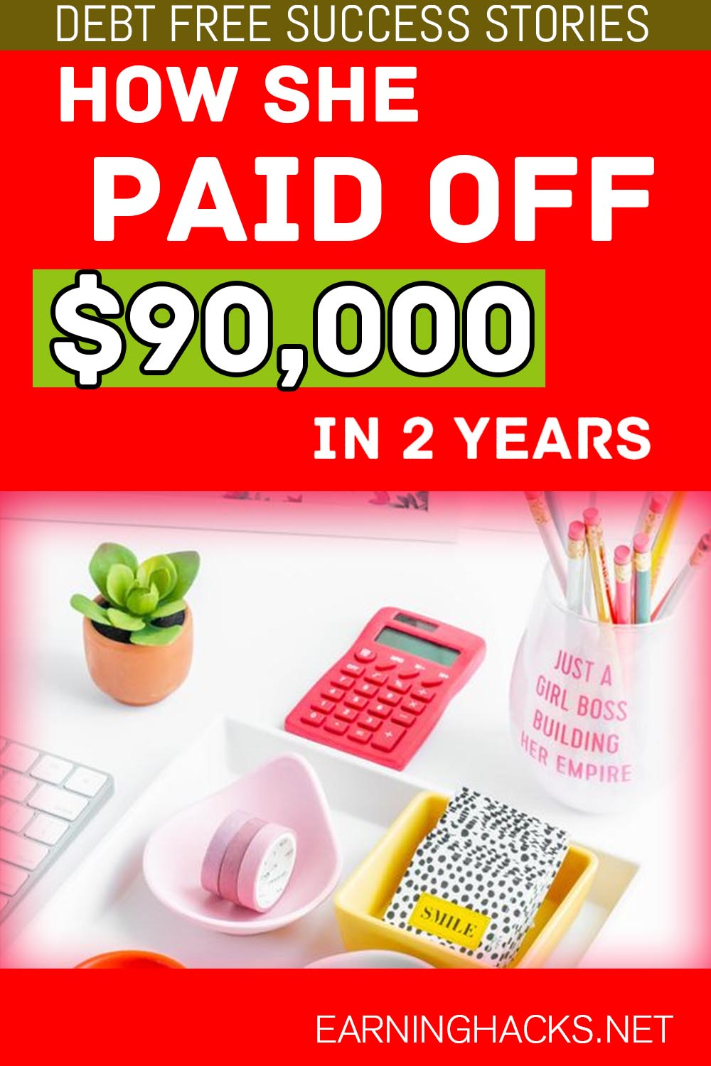 How She Paid Off $90,000 In 2 Years